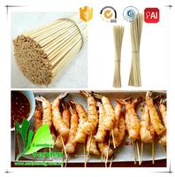China Disposable Cheap Natural Bamboo Brochette Skewers