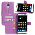 Flip cover PU leather case for ZTE blade V7 lite, with card slot and stand function,
