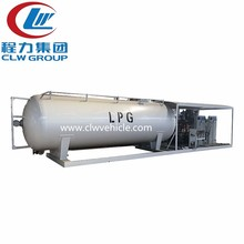 Factory sale 5 ton lpg skid station 10000 liter LPG filling plant with filling machine
