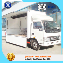 Large factory high quality food mobile van cargo box body trucks
