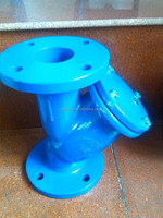 ANSI/API 609 Y -strainer with SS304/316 screen PN10/16