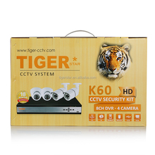 2015 New arrival cctv camera kit 8 ch dvr - 4 camera cctv camera kit
