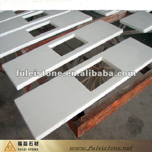kitchen artificial granite table top