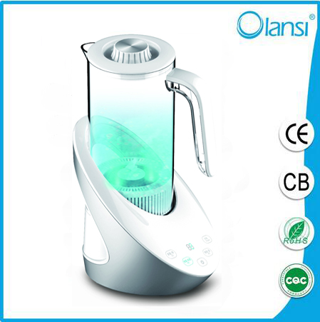 OLS-H3 Intelligent and portable Hydrogen Rich Water pot 1500ml Easy to clean/ healthy water