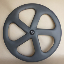 5 spoke carbon bicycle wheel 700C tubular