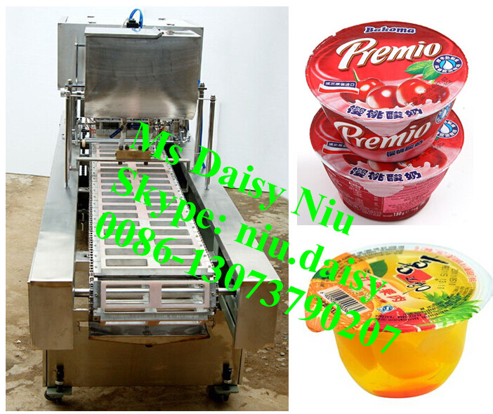 automatic cheese cup filling <strong>machine</strong>/tomato sauce cup packing <strong>machine</strong>/jam bottle packaging <strong>machine</strong>