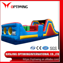 PVC tarpaulin material for inflatable jumping bed