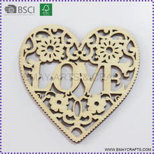 Wall Hanging Wooden Christmas Heart Decoration Ornament