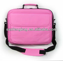 "NEW 17"" - 19"" PINK LAPTOP NOTEBOOK CARRY CASE SHOULDER BAG"