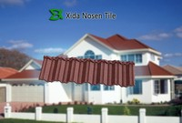 colorful stone coated metal roof tile,roofing material