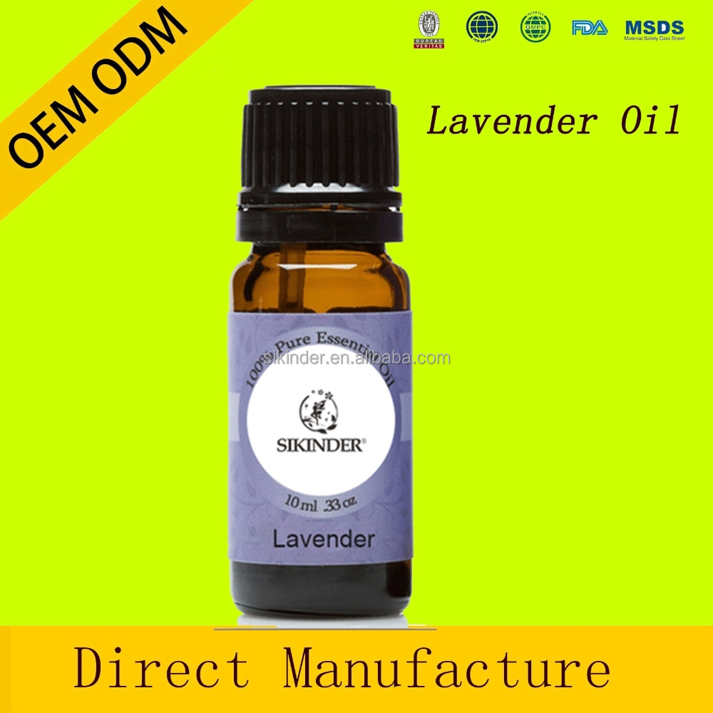 Pure private label OEM Lavender Essential Oil therapeutic grade for aroma massage oil whole sale price
