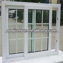 PVC cheap house windows grill designs home for sale
