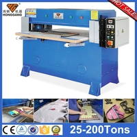 semi-automatic hydraulic leather belt making machine