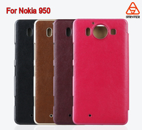 For Nokia 950 Leather case with card slots Hot Selling PU Leather Wallet Flip Cover Case for Nokia Lumia 950 Leather Case