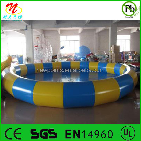 used inflatable swimming pool pvc swimming pool for sale
