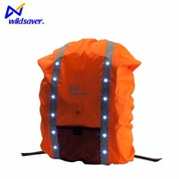 30 - 40L Capacity reflective waterproof school bag backpack rain cover