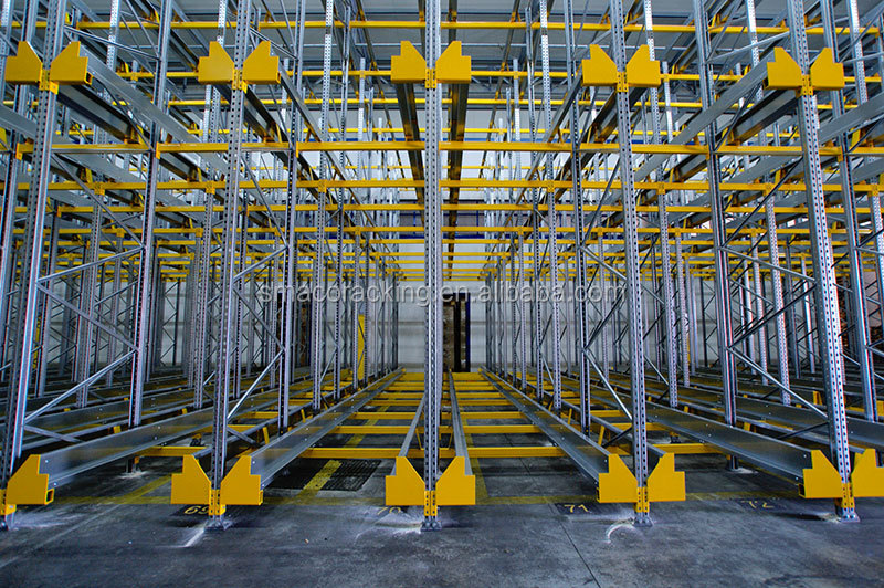 Drive In/Through Industrial Warehouse Storage High Density Heavy Duty Racks