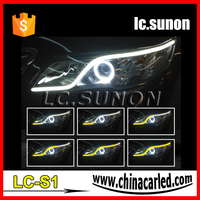 Flexible sequential led turn signal lights LCSUNON