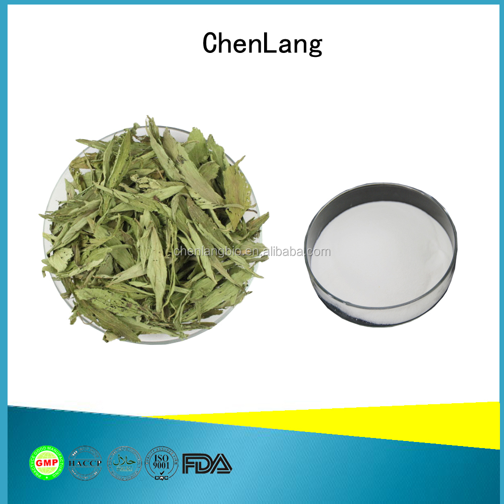 Active Ingredients Stevioside of Organic Stevia Leaf Extract Powder