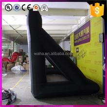 giant inflatable cinema projection screen for advertising event