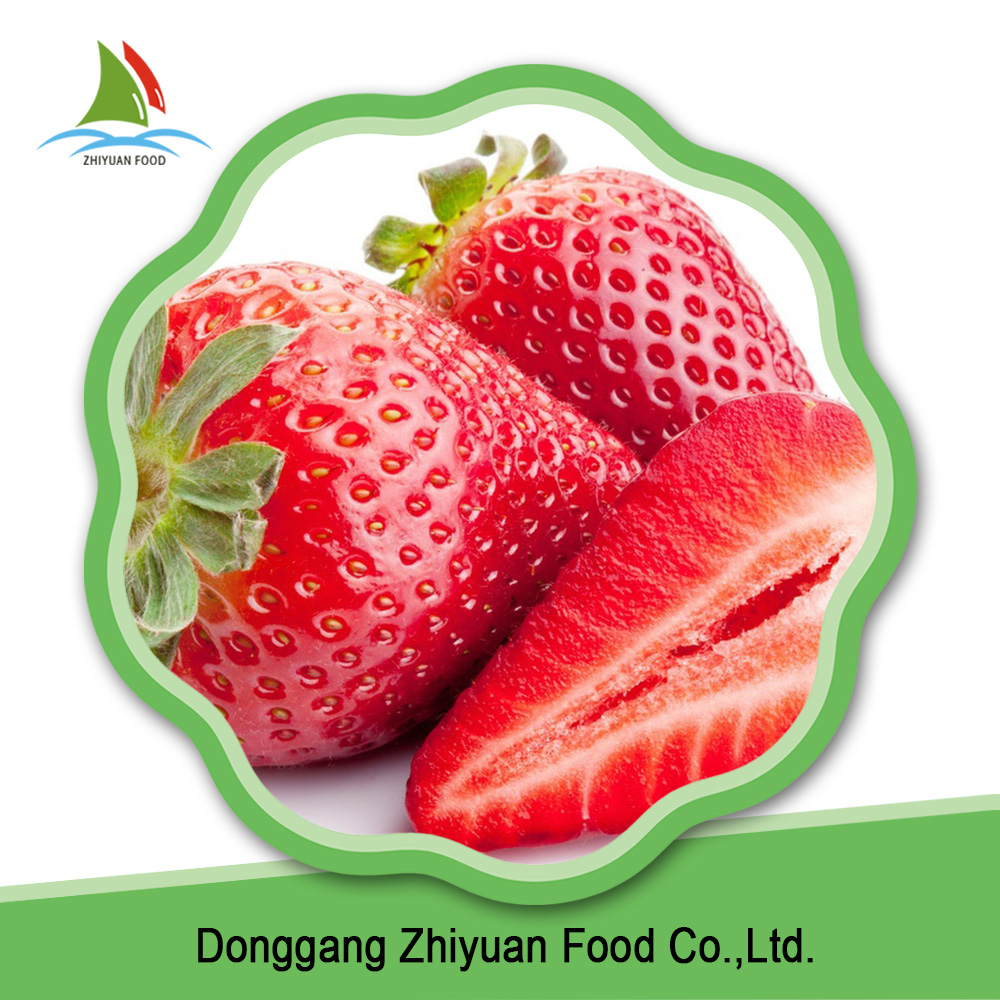 China sweet common bulk wholesale red frozen strawberries