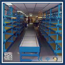 Roller Shelves For Assembly Line