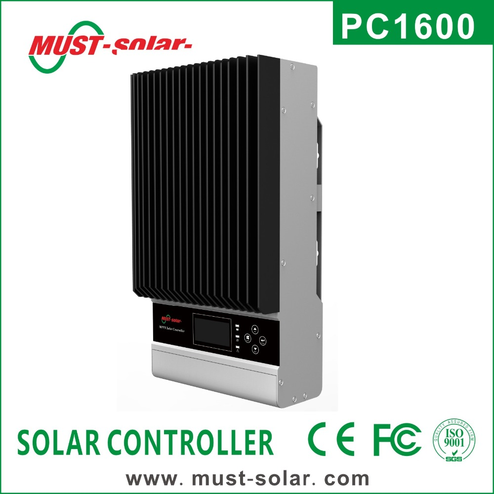 < Must Solar> PC1600A series mppt 60A MPPT high voltage solar charge lcd display controller