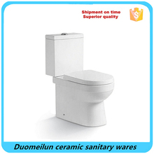 OEM Bathroom Ceramics two pcs toilet/WC/Water closet Western Style