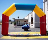 Outdoor events cheap inflatable arch,inflatable entrance C2013