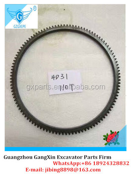 High quality Diesel Engine 4D31 Fly Wheel Gear Ring 110T for Excavator