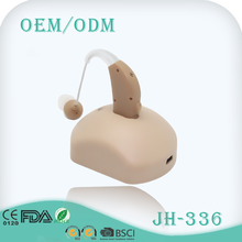 Ear sound amplifier battery rechargeable hearing aid