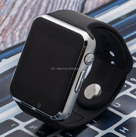 factory direct sale OEM A1 SIM/TF bluetooth smart watch watch for apple&Android