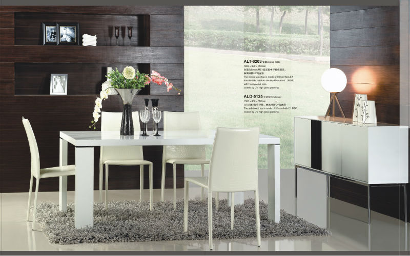 2013 Modern Dining Room Table And Chair