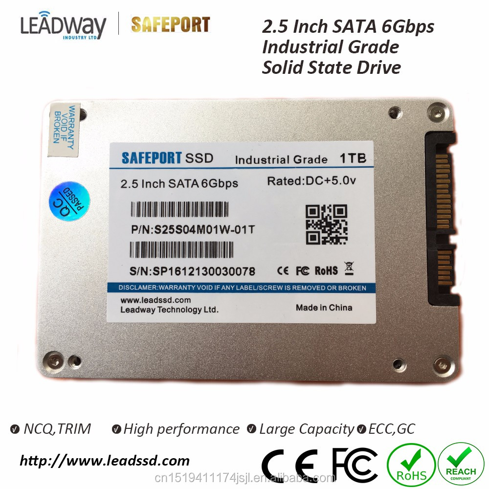 "Industrial SSD 2.5"" SATA3 ssd 16GB hard disk up to 10TB 9mm solid state drive for industrial PC support OEM"