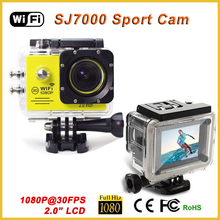 "sj700 camera action cam 1080 wifi full hd sport dv h.264 waterproof driving 30M 2.0"" LCD"