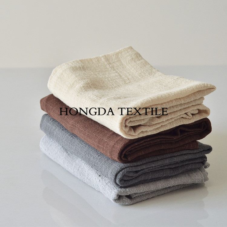 100% natural flax crepe style table napkins;flax napkin