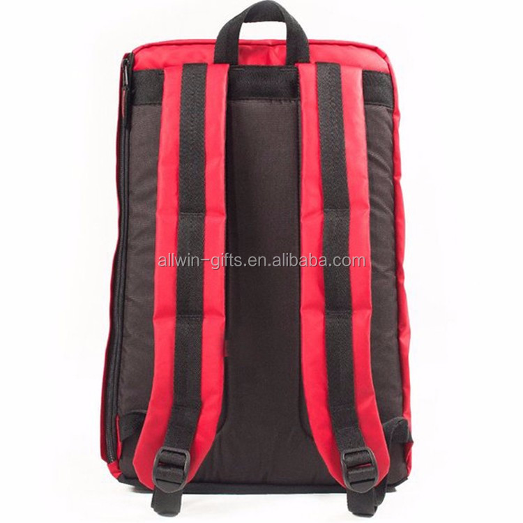High quality laptop sports backpack with shoe compartment