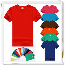 HP031 High Quality Soft Cotton Plain Tshirt /Blank Desinger Tshirt Hot sale One Dollar T-Shirts
