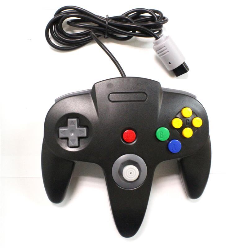 64 for N64 system for N64 joystick for PC windows N64 Nintendo switch 64 controller BLACK