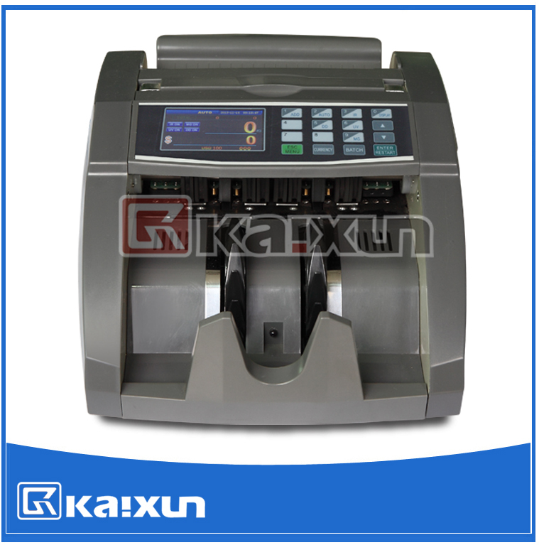 High quality easy to use bill counter machine KX-6121