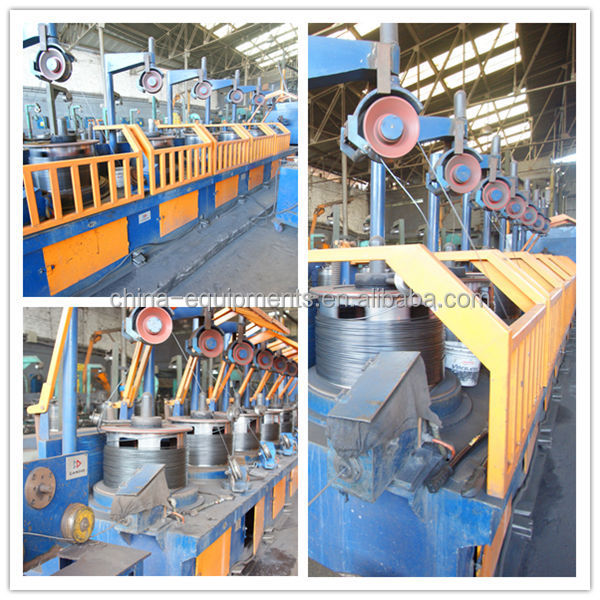 Low carbon/high carbon Steel Wire Drawing Machine