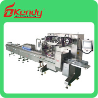 Automatic Multi-function biscuit/chocolate/cookies/bread Horizontal chocolate packing Machine