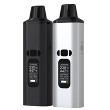 High quality portable dry herb vaporizer with 0.96 inch Oled display TC herbal vaporizer