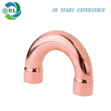 U type elbow copper pipe fittings for refrigeration