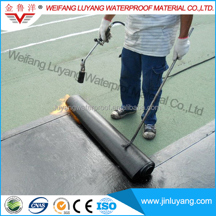 torching SBS modified bitumen waterproof membrane