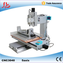 5 Axis CNC engraving machine 3040 CNC router with High-Precision Ball Screw Table Column Type