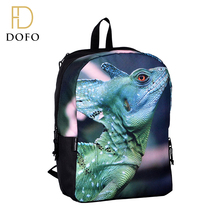 Personalized fashion design lightweight full printing 3d backpack