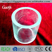 large diameter borosilicate glass pyrex thick wall thickness quartz glass tubing