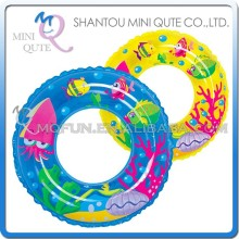 MINI QUTE Outdoor Fun & Sports 2 color kawaii baby kids children swim neck collar ring donut inflatable swim ring NO.WMB07538
