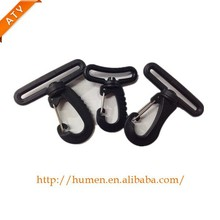 swivel snap plastic hook buckle for webbing strap of travel bag/tent/messenger bag